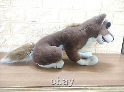 Vintage Balto Half Wolf Dog Stuffed Animal Plush Toy Universal City Studios 1995