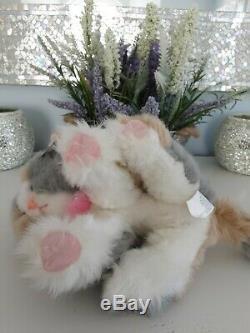 Vintage DSI Tyco Kitty Kitty Kittens River Plush Stuffed Animal Toy Cat