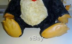 Vintage Large 17 Rushton or Gund Rubber Face Chubby Tubby Plush Stuffed Bear