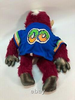 Vintage My Pet Football Monster Plush Amtoy Collectible 80's Good Hands & Feet
