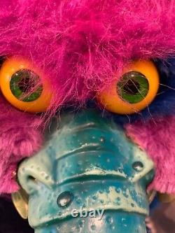 Vintage My Pet Monster 1986 Original Plush! Rare & Collectable
