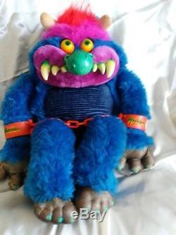 Vintage Orginal Amtoy My Pet Monster Plush Toy