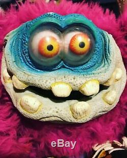 Vintage Rare Gigglee Eyes Monster Plush Madballs Those Characters From Cleveland