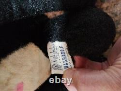 Vintage Rubber Face Cat Plush Huckleberry Hound, Mr. Jinx 1959 Hanna- Barbera