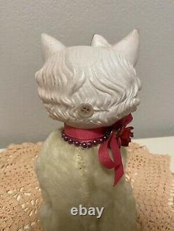 Vintage Rubber Face Plush Kitty Cat Rare