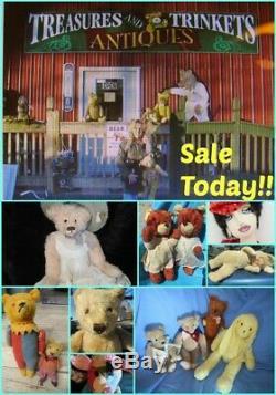 Vintage Rubber Face Plush Monkey Chimp Rare Huge Lifesize 40 Bear Rushton Gund