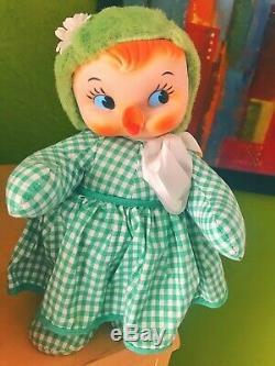 Vintage Rubber Face Plush Stuffed Animals Lot
