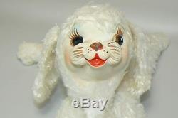 Vintage Rubber Face Star Creation Stuffed Plush POODLE Rushton