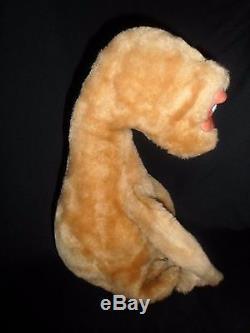 Vintage Rushton Company ET E. T. Extra Terrestrial Plush Stuffed Animal Doll 11