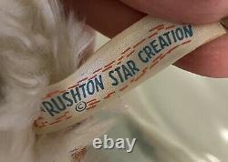 Vintage Rushton Rare Rubber Face Plush Kitty Cat