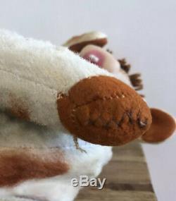Vintage Rushton Rubber Face Cow Plush 1950s Elsie Cow Rushton Star Creations