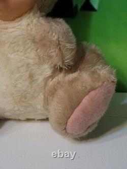Vintage Rushton Rubber Face Plush Mouse Stuffed Animal Doll