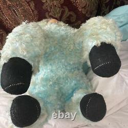 Vintage Rushton Star Creation Rubber Face Stuffed Animal Plush Lamb Cow