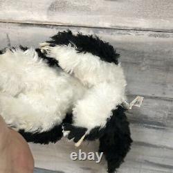 Vtg 1950s Rushton Stinky Skunk Rubber Face Plush Stuffed Animal Eye Wink Rare