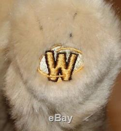 Webkinz Retired Signature Timberwolf Plush HTF No Code EUC