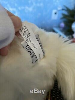 Webkinz Signature Arctic Fox With Code HTF Rare Ganz Plush