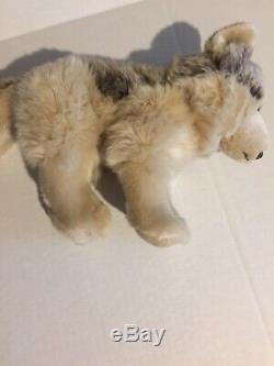 Webkinz Signature Ganz Rare Timber Wolf Plush WKS1008 12