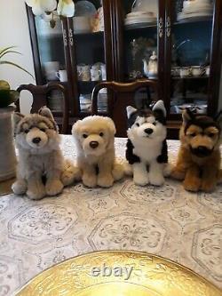 Webkinz Signature Random ONE plush(Husky, Wolf, Goden, and German Shepherd)