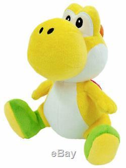 Yoshi (YELLOW) Super Mario Bros. 8 Plush Sen-Ei Little Buddy