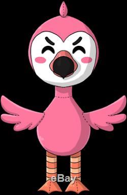 Youtooz Flamingo AlbertsStuff Plush 24 2ft Plushie Rare Sold Out 1,500 LIMITED