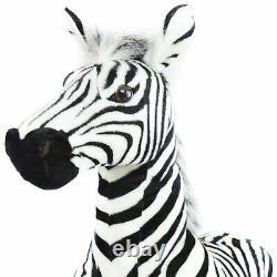 Zelassie the Zebra 3 Foot Big Stuffed Animal Plush Zebra Horse Pony